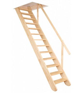 Půdní Mlynářské schody...