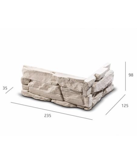 Obkladový kámen DAFINA roh...