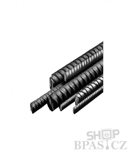 Ocel žebírková, 6mm délka 6m