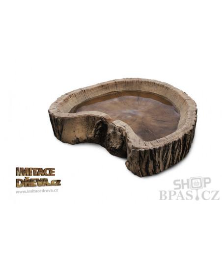 Vodní kaskáda - Imitace Dřeva