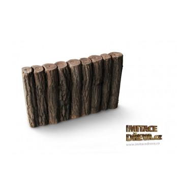 Palisáda - Imitace Dřeva