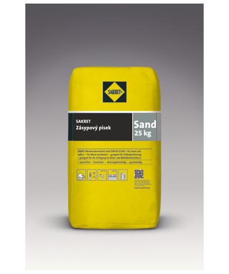 Sakret SAND zásypový písek...